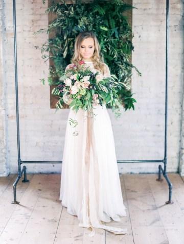 Pretty Warehouse Wedding Inspiration by Natashia Nicole Photography 3