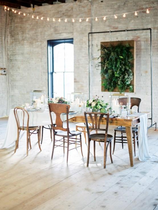 Pretty Warehouse Wedding Inspiration by Natashia Nicole Photography 42