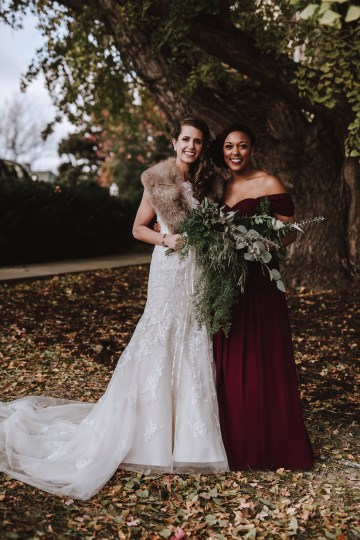 Romantic Winter Wedding by Brandi Potter Photography 15