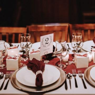 Romantic Winter Wedding by Brandi Potter Photography 33