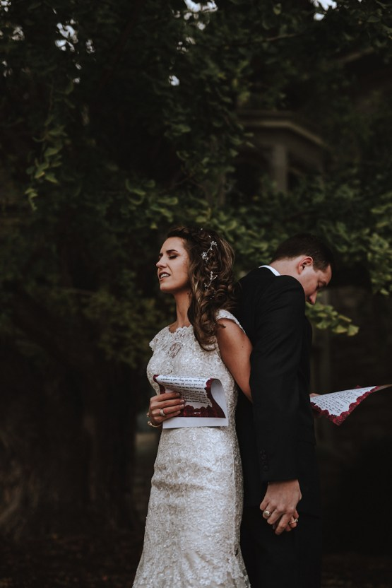 Romantic Winter Wedding by Brandi Potter Photography 37