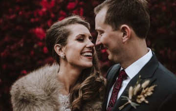 Romantic Winter Wedding by Brandi Potter Photography 45