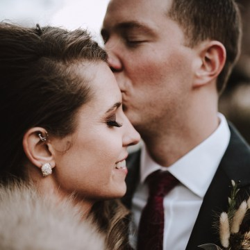 Romantic Winter Wedding by Brandi Potter Photography 46