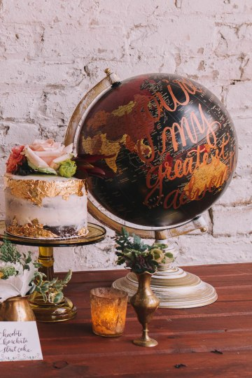 Vintage Travel Wedding Inspiration by Alexandria Odekirk Photography and Dotted Events 18