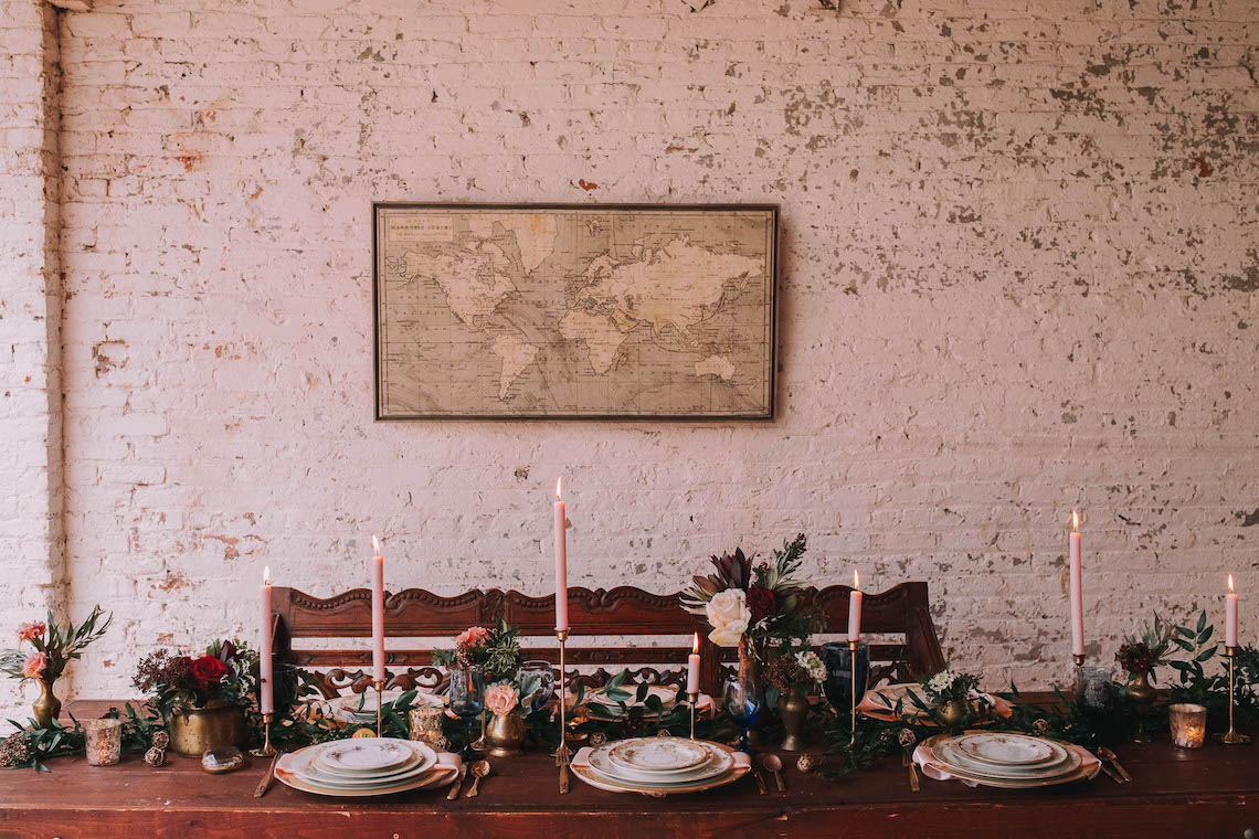 Vintage Travel Wedding Inspiration by Alexandria Odekirk Photography and Dotted Events 40