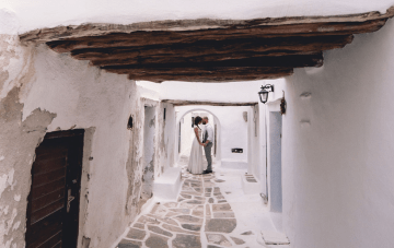 Stunning Greek Island Wedding Film