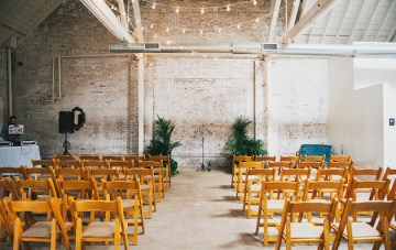 How to Design Your Wedding in a Raw Space Venue