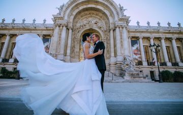 Paris to Normandy; Glamorous & Intimate Wedding in France