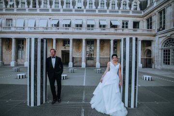 Glamorous French Wedding by Alisabeth Von Presley and Fete in France 35