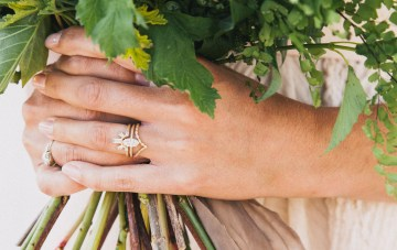 Modern Farmhouse Wedding Inspiration by Alexandra Wallace and A Lovely Creative 21