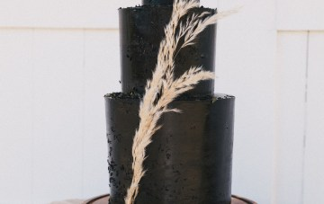 Modern Farmhouse Wedding Inspiration by Alexandra Wallace and A Lovely Creative 58