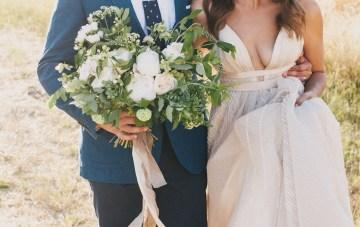 Modern Farmhouse Wedding Inspiration by Alexandra Wallace and A Lovely Creative 69