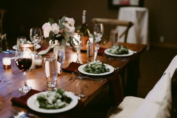 Rustic & Intimate Wedding by Suzuran Photography and Oak & Honey Events 65