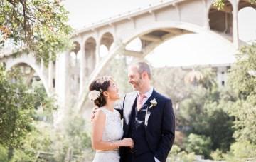 Elegant, Intimate, Laid-Back LA Wedding