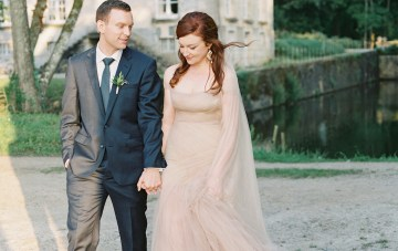Intimate & Romantic Chateau Wedding in France