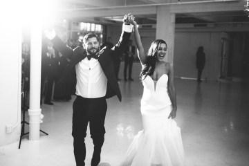 Cool Loft Wedding In New York by Chaz Cruz Photographers 29