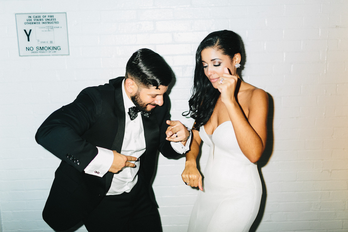 Cool Loft Wedding In New York by Chaz Cruz Photographers 32