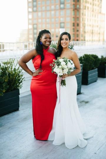 Cool Loft Wedding In New York by Chaz Cruz Photographers 46