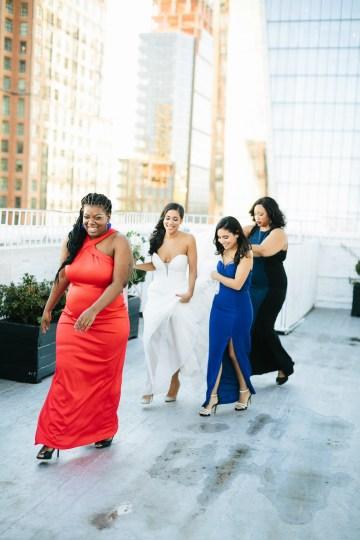 Cool Loft Wedding In New York by Chaz Cruz Photographers 49