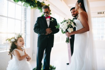 Cool Loft Wedding In New York by Chaz Cruz Photographers 51