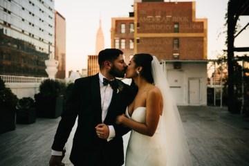 Cool Loft Wedding In New York by Chaz Cruz Photographers 60