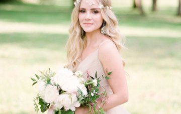 Elegant Pastel Wedding Inspiration by Christy Wilson Photography 2