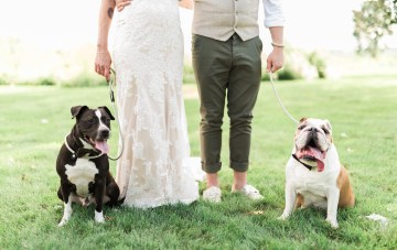 Cool, Fun, Rustic Farm Wedding