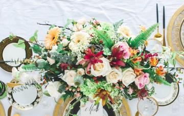 Modern LA Wedding Inspiration Hannah Q. Photography 31