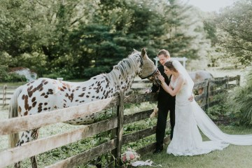 Pretty Farm Wedding by Bekah Kay Creative 40