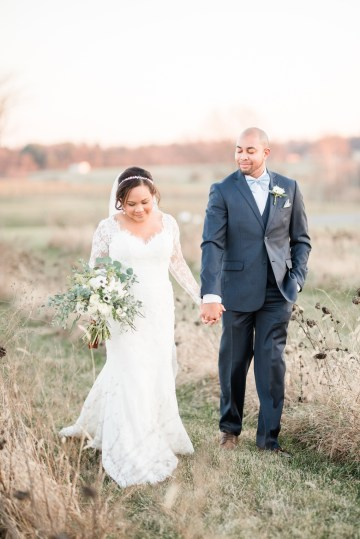 Romantic Winter Wedding by Audrey Rose Photography 57