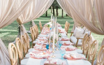 Elegant Pastel Wedding Inspiration Straight Out Of A Fairytale