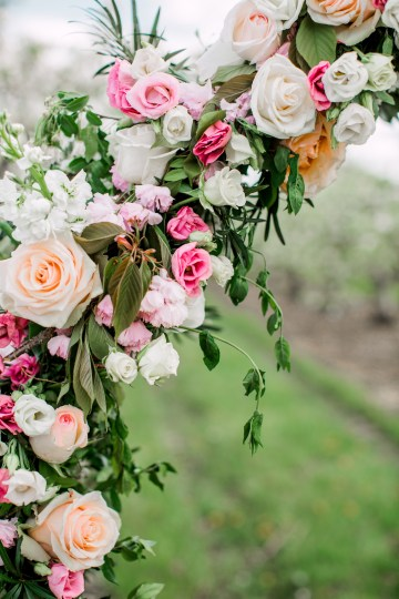 Bright and Colorful Apple Blossom Orchard Wedding Inspiration | Shanell Photography & Mitten Weddings and Events 11