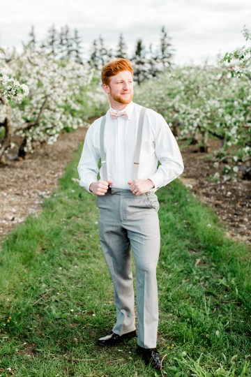 Bright and Colorful Apple Blossom Orchard Wedding Inspiration | Shanell Photography & Mitten Weddings and Events 34