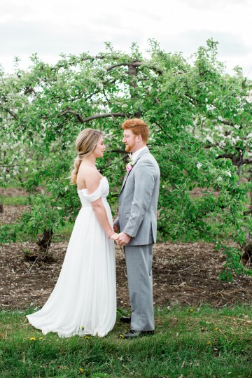 Bright and Colorful Apple Blossom Orchard Wedding Inspiration | Shanell Photography & Mitten Weddings and Events 6