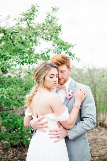 Bright and Colorful Apple Blossom Orchard Wedding Inspiration | Shanell Photography & Mitten Weddings and Events 7