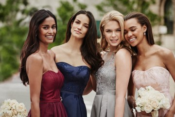 Classic Timeless Dresses For Your Royal Bridal Party | Oleg Cassini & David's Bridal 2