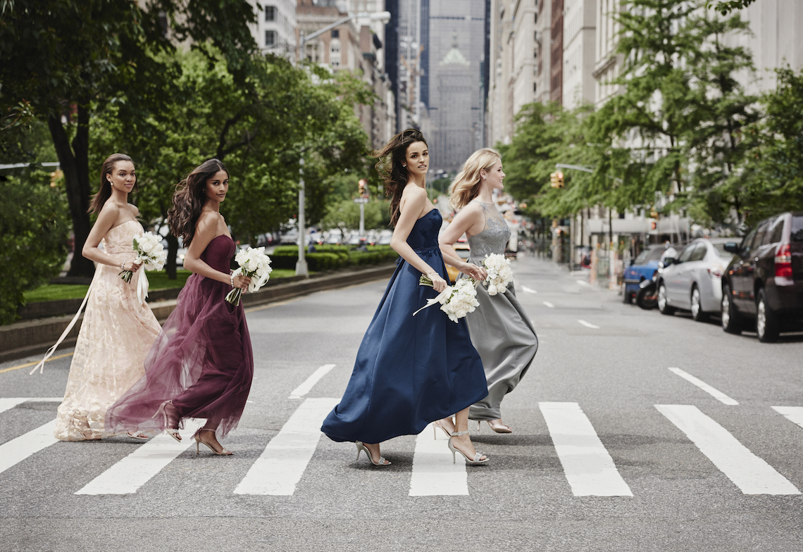 Classic Timeless Dresses For Your Royal Bridal Party | Oleg Cassini & David's Bridal 3