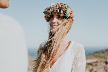 Free-Spirited & Panoramic Boho Wedding Inspiration | Sara Cuadrado and El Ramo Volador 2