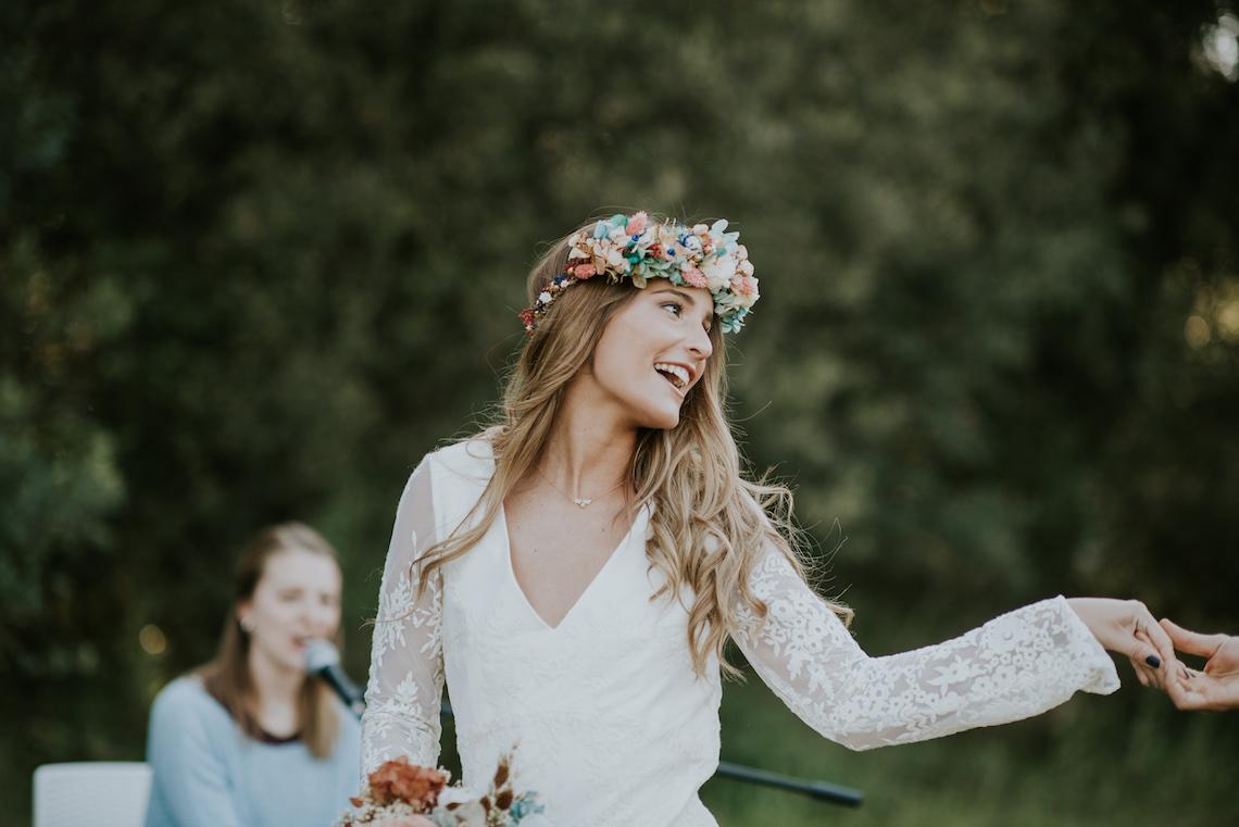 Free-Spirited & Panoramic Boho Wedding Inspiration   Sara Cuadrado and El Ramo Volador 28