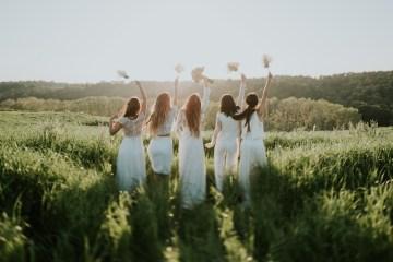 Free-Spirited & Panoramic Boho Wedding Inspiration | Sara Cuadrado and El Ramo Volador 41