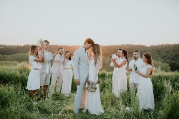 Free-Spirited & Panoramic Boho Wedding Inspiration | Sara Cuadrado and El Ramo Volador 57