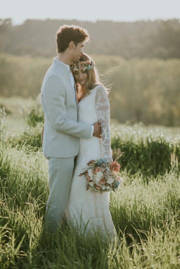 Free-Spirited & Panoramic Boho Wedding Inspiration | Sara Cuadrado and El Ramo Volador 63