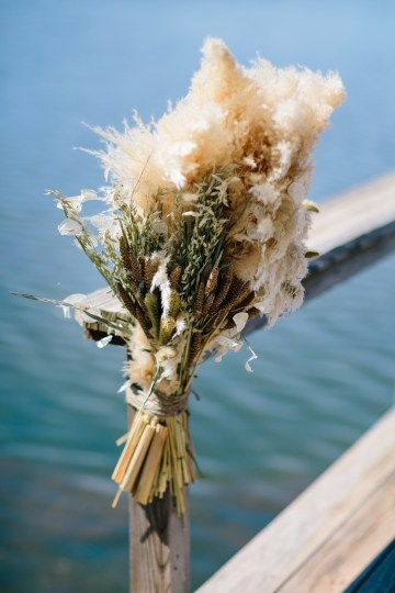 Fun, Scenic, Lakeside Wedding with Dried Floral Bouquets | Studio 1208 68