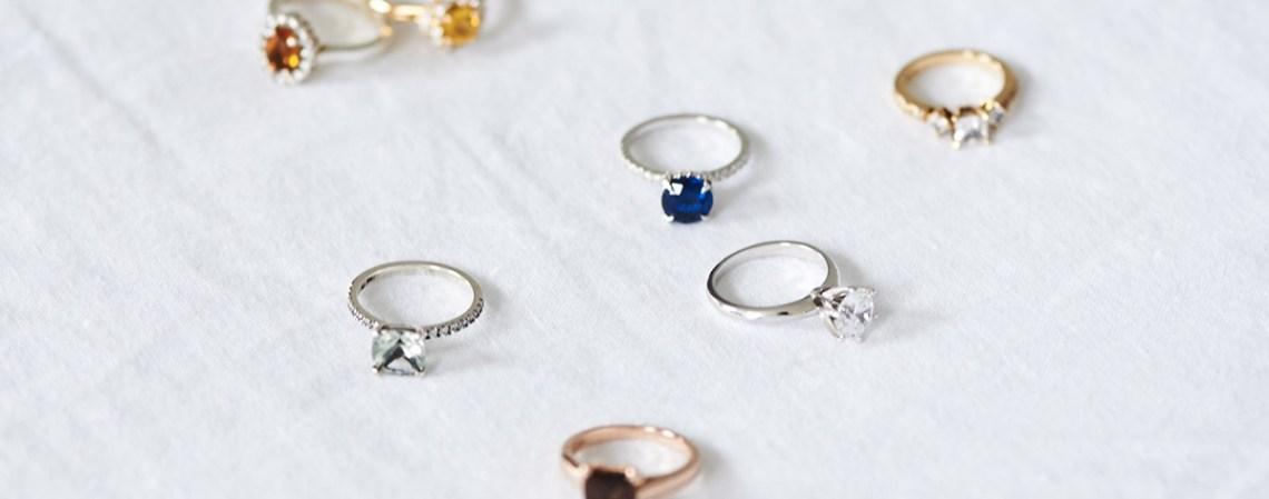 Gemvara Birthstone engagement rings