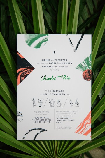 Jungle Wedding Inspiration from Knot & Pop 27
