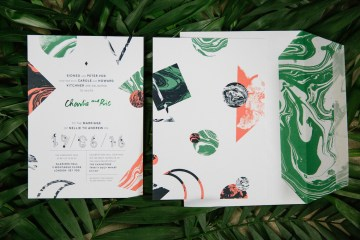 Jungle Wedding Inspiration from Knot & Pop 3