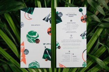 Jungle Wedding Inspiration from Knot & Pop 34