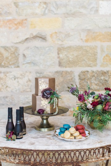 Romantic Gold, Grey and Berry Vineyard Wedding Inspiration | Jenny Quicksall & An Enlightened Event 22