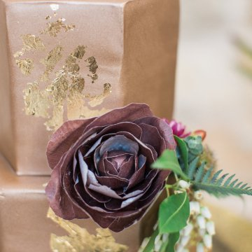 Romantic Gold, Grey and Berry Vineyard Wedding Inspiration | Jenny Quicksall & An Enlightened Event 24