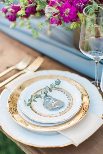 Romantic Gold, Grey and Berry Vineyard Wedding Inspiration | Jenny Quicksall & An Enlightened Event 53